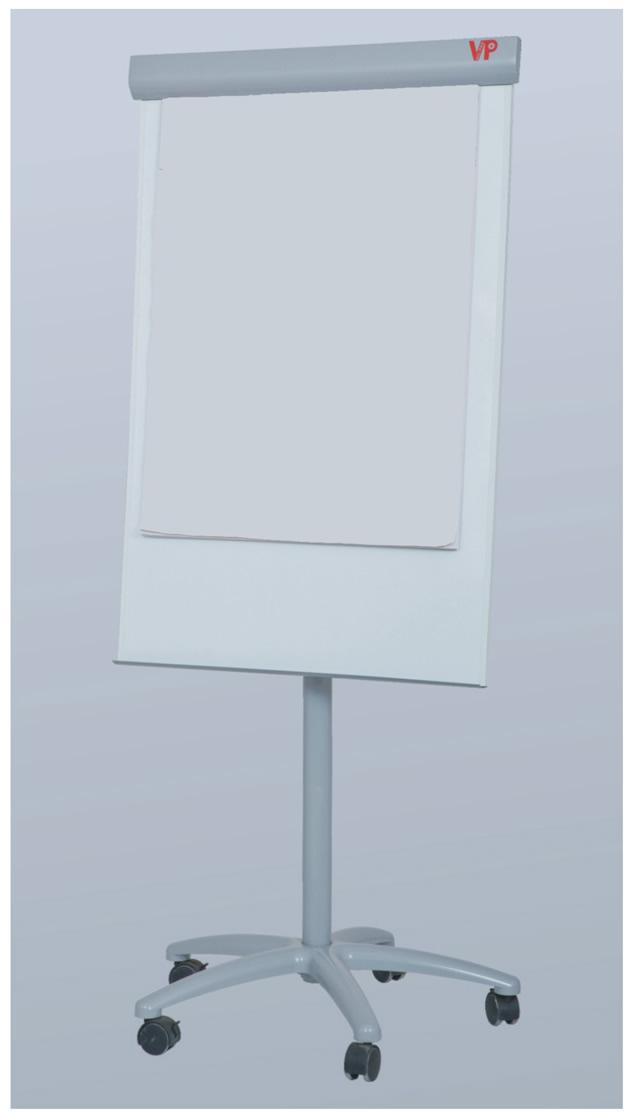 Mobile Flip Chart Easel White Board