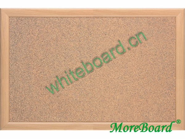 Wood Frame Pin Message Corkboard