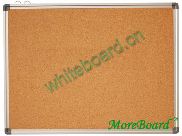 Pin Cork Bulletin Board Aluminum Frame