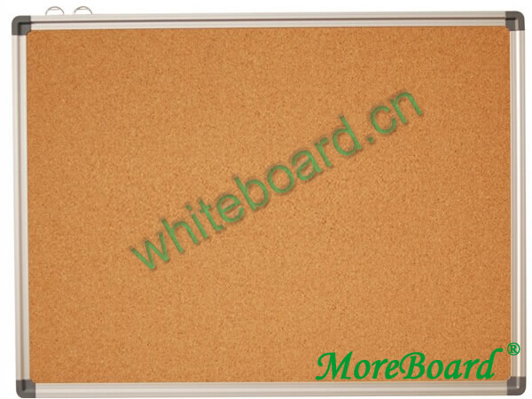 Aluminum Frame Corkboard for Office and School