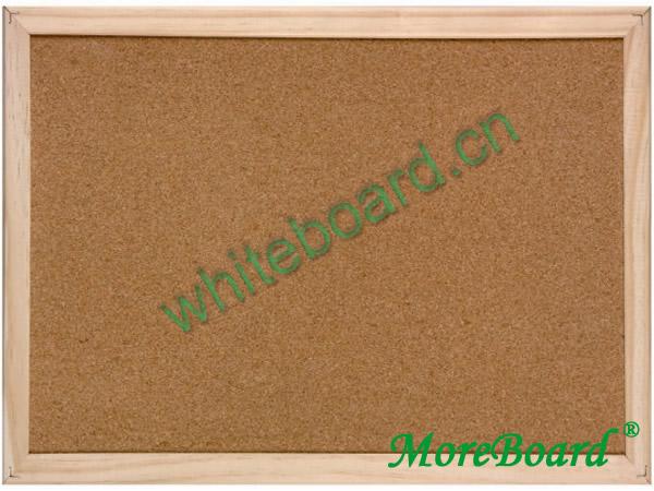Pine Wooden Frame Cork Notice Board