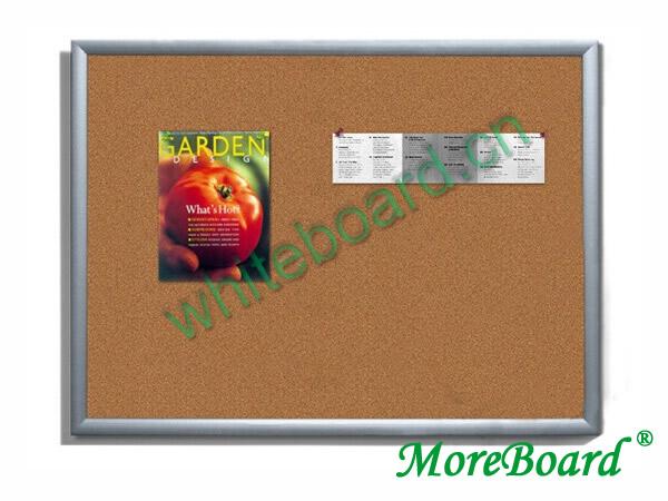 Aluminum Trim Frame Cork Memo Board