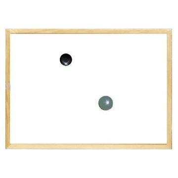 ECO Friendly Wood Framed Drywipe Whiteboard