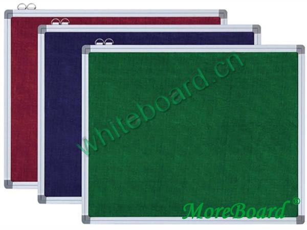 Aluminium Frame Magnetic Felt Board