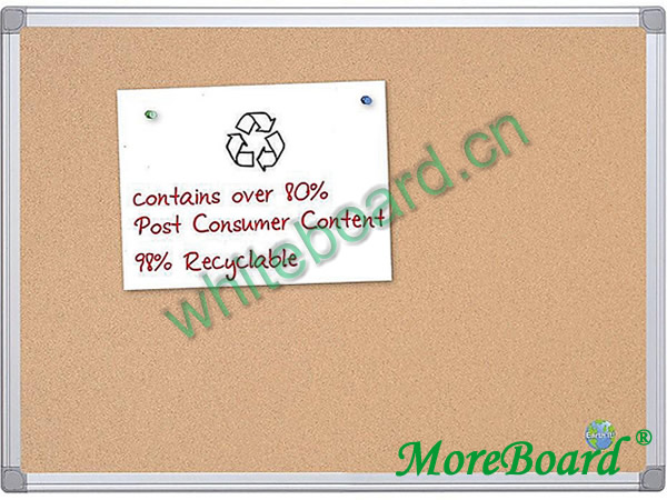 Pin Bulletin Single Side Corkboard