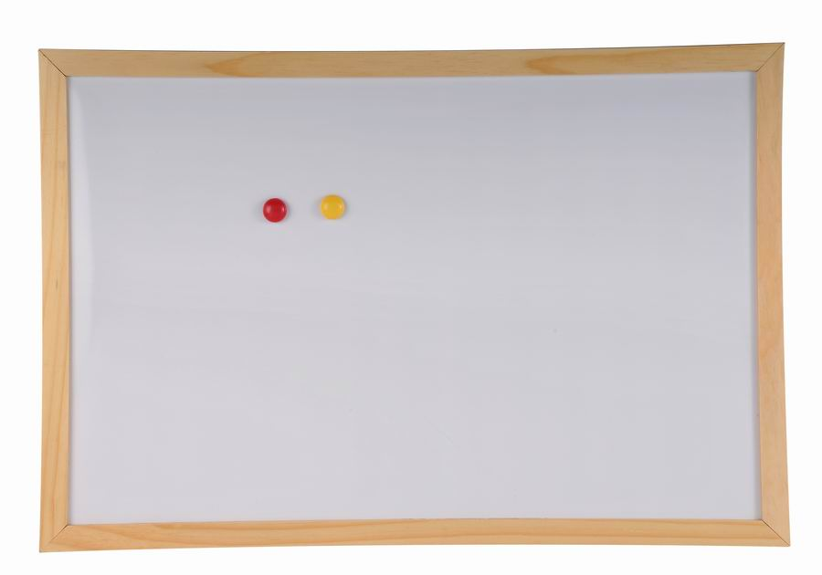 Pine Wood Frame Magnetic Whiteboard