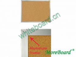 Aluminum Frame Cork Memo Board