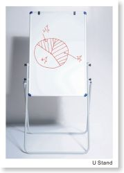 Stand Flip White Board Easel