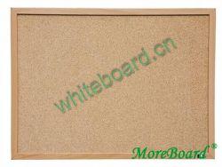 Natural Wooden Frame Bulletin Pinboard