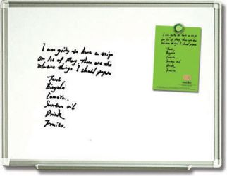 Extra Smooth Magnetic Whiteboard