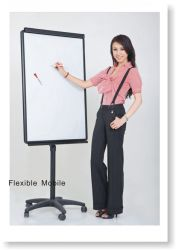 Free Standing White Board Flip Charts