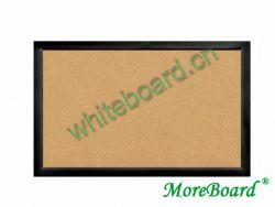 Black Wooden Frame Cork Bulliten Board