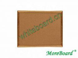 Eco-Friendly Corkboard with Wood Frame