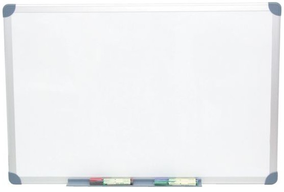 Executive Dry Wipe Board Aluminum Trim