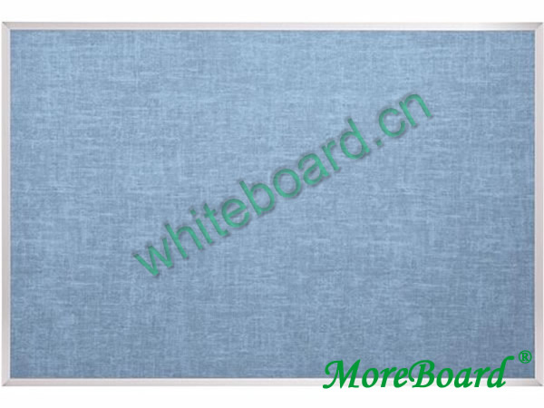 Natural Flax Fabric Bulletin Board