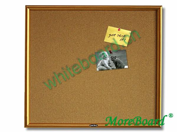Economy Cherry Framed Message Cork Board