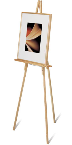 Adjustable Tripod Wood Stand Flip Chart