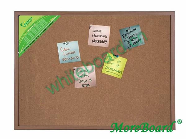 Wooden Frame Cork Memo Board